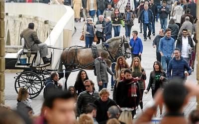 """Córdoba vive una Semana Santa """"sin precedentes"""" para el sector turístico"""